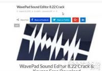WavePad Sound Editor 9.34 Crack With Registration Key Free Download 2019